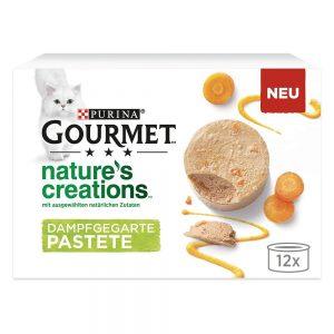 Ekonomipack: Gourmet Nature's Creations Paté 24 x 85 g - Lax & gröna bönor