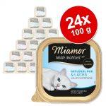 Ekonomipack: Miamor Mild Meal 24 x 100 g - Höns & skinka