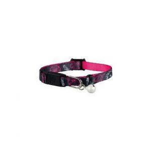 Halsband för kattunge mönstrat Rosa