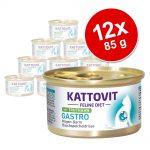 Kattovit Gastro 12 x 85 g - Anka