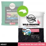 Nutro Wild Frontier Adult Salmon & White Fish - Ekonomipack: 3 x 4 kg