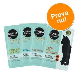 Provpack: Cosma Soup 4 x 40 g 4 x 40 g