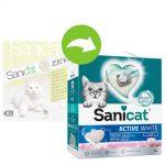 Sanicat Active White Lotus Flower kattströ - 6 l