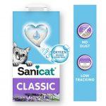 Sanicat Classic Lavendel kattströ - 16 l