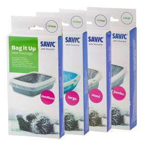 Savic Bag it Up Litter Tray Bags - Medium - 3 x 12 st