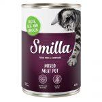 Smilla Mixed Meat Pot 6 x 400 g - Höns, nötkött & vilt
