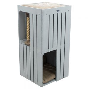 Trixie BE NORDIC Cat Tower Juna klöstunna - grå