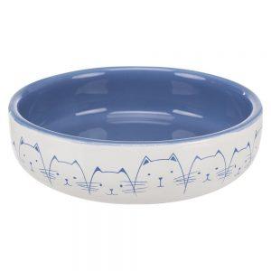 Trixie keramikskål för kortnosade raser - 300 ml, Ø 15 cm