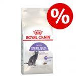 10 % rabatt! Små påsar Royal Canin kattfoder - Sterilised 7+ (3,5 kg)