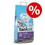 16 l Sanicat kattströ till sparpris! - 7 Days Aloe Vera (4 x 4l)