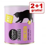 2 + 1 på köpet! Cosma Snackies Maxi Tubes Maxi Tube: blandpack 5 sorter 3 x 150 g
