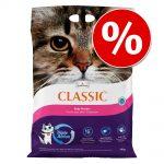 20 % rabatt på Classic kattsand! Classic lavendeldoft (14 kg)