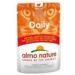 Almo Nature Daily Menu Pouch 6 x 70 g - Anka och kyckling