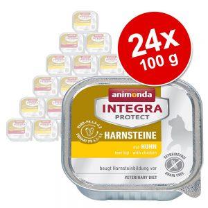 Animonda Integra Protect Adult Urolithiasis 24 x 100 g portionsform - Kyckling