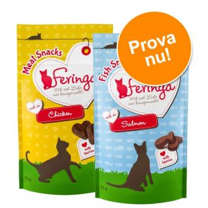 Blandade provpack Feringa Snacks - 9 x 6 g Sticks 3 olika sorter