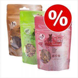 Blandat sparpack: catz finefood Meatz - 3 x 45 g (3 olika sorter)