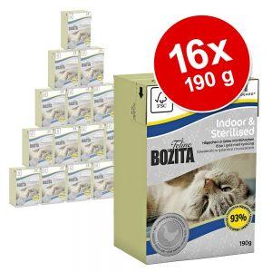 Bozita Feline Funktion 16 x 190 g - Indoor & Sterilised