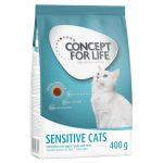Concept for Life Sensitive Cats Bonusbag 10 + 2 kg på köpet