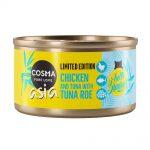 Cosma Asia Summer Edition: Kyckling & tonfisk med tonfiskrom - 6 x 85 g