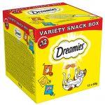 Dreamies Mixbox (kyckling, ost, lax) - 12 x 60 g