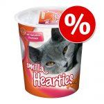 Ekonomipack: 3 x 125 g Smilla kattgodis - Hearties (3 x 125 g)
