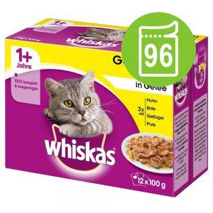 Ekonomipack: 96 x 85 / 100 g Whiskas - Senior 7+ Blandat urval i sås 100 g