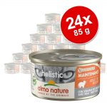Ekonomipack: Almo Nature Holistic Maintenance 24 x 85 g - Med fet fisk