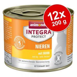 Ekonomipack: Animonda Integra Protect Adult 12 x 200 g konservburk - Adult Diabetes Fjäderfä