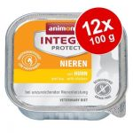 Ekonomipack: Animonda Integra Protect Adult Renal 12 x 100 g portionsform - Kyckling