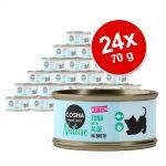 Ekonomipack: Cosma Nature Kitten 24 x 70 g - Kyckling & tonfisk