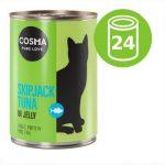 Ekonomipack: Cosma Original i gelé 24 x 400 g Kycklingbröst