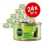Ekonomipack: Cosma Original i gelé 24 x 85 g - Skipjack tonfisk