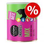 Ekonomipack: Cosma Snackies Maxi Tube - 3 x blandpack 5 sorter (450 g)