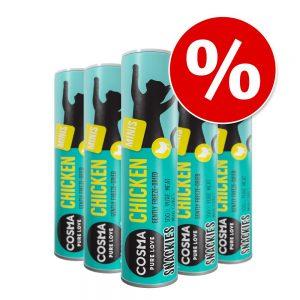 Ekonomipack: Cosma Snackies Minis - 5 x Kyckling (130 g)