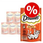 Ekonomipack: Dreamies Cat Treats 6 x 60 g - Nötkött (6 x 60 g)
