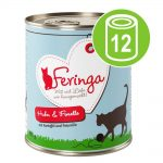 Ekonomipack: Feringa Menu Duo 12 x 800 g - Öring & höns med potatis