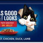 """Ekonomipack: Latz """"""""As good as it looks"""""""" 44 x 85 g - Kyckling, nötkött, tonfisk, lax"""
