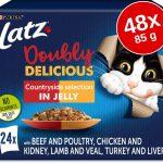 "Ekonomipack: Latz """"As good as it looks..."""" Doubly Delicious 48 x 85 g - Med grönsaker"