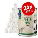 Ekonomipack: Sanabelle All Meat 24 x 400 g Lamm & nötkött