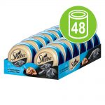 Ekonomipack: Sheba Mealtime Luxuries 48 x 80 g Blandpack