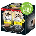 Ekonomipack: Sheba Perfect Portions 48 x 37,5 g Anka
