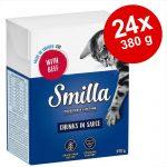 Ekonomipack: Smilla Chunks i gelé 24 x 380 g Lax