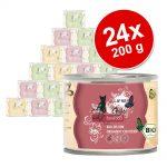 Ekonomipack: catz finefood Bio 24 x 200 g - No. 505 Anka