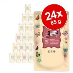 Ekonomipack: catz finefood Bio i portionspåse 24 x 85 g - No. 507 Nötkött