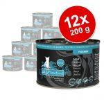 Ekonomipack: catz finefood Purrrr 12 x 200 g - No. 103 kyckling (12 x 200 g)