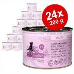 Ekonomipack: catz finefood på burk 24 x 200 g - Lax & fågel