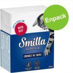 Enpack: Smilla Chunks i sås eller gelé 1 x 370 / 380 g Kyckling & kalkon i gelé