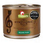 GranataPet Symphonie 6 x 200 g - Kalv & fågel