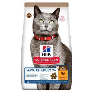 Hill's Science Plan Cat Mature No Grain med Kyckling 1,5 kg