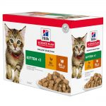 Hill's Science Plan Kitten 48 x 85 g- Poultry Selection